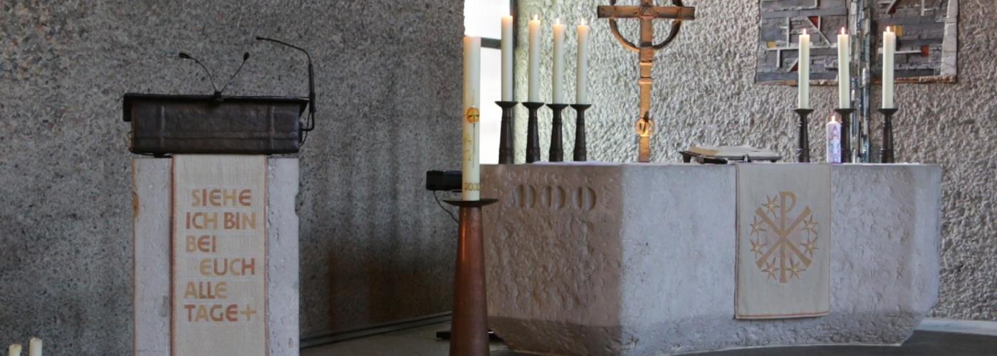 Altarraum der Kirche St. Michael