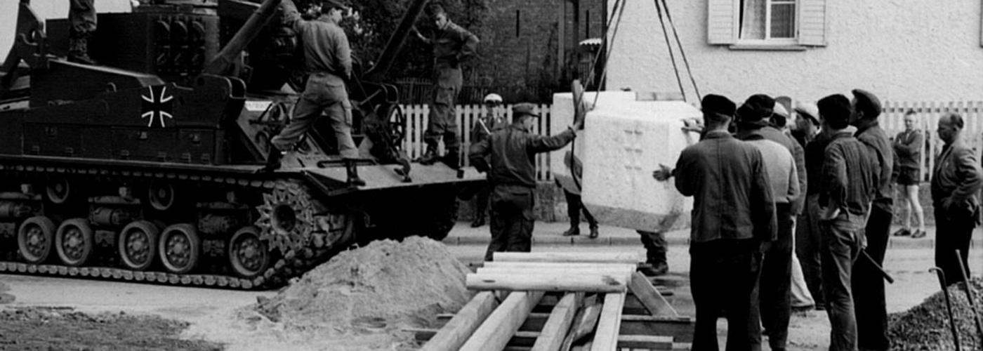 Bundeswehr hilft beim Kirchenbau
